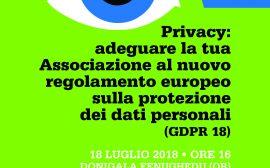Seminario Privacy 180718 manifesto